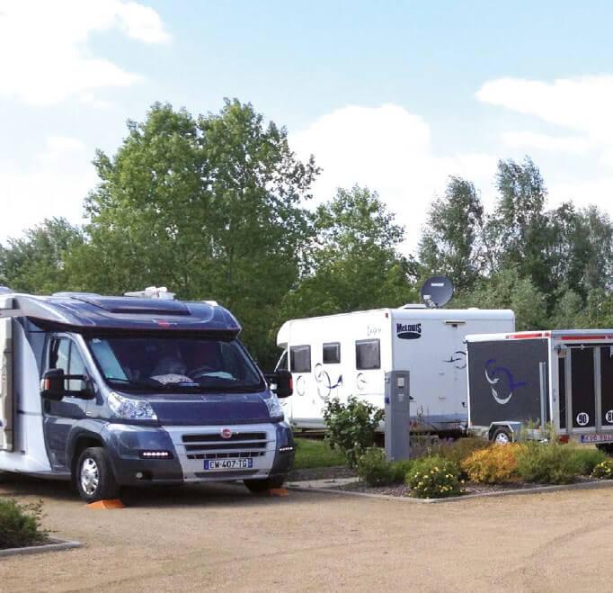 Stationnement automatique camping-cars
